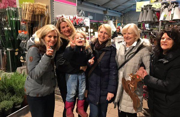 Erfolgreicher Ladies Day in Baesweiler beim Gartencenter der kleine Höppener